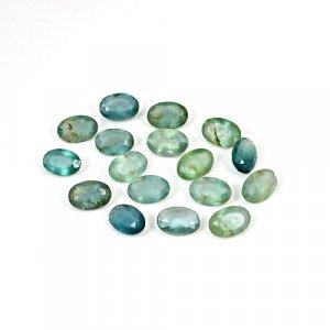 Natural Green Fluorite 6x4mm Oval Cut 13 Cts 20 Pcs Lot Loose Gemstone