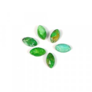 Natural Green Mohave Turquoise Gemstone Marquise Checker 0.30Cts 6x3mm