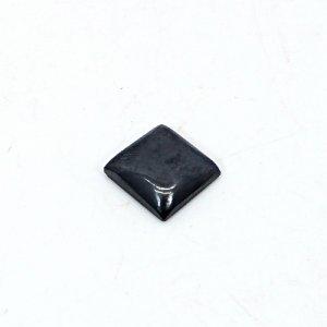 Natural Hematite 11x11mm Square Cabochon 7.30 Cts Loose Gemstone