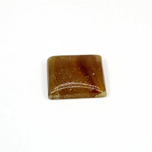 Natural Honey Aragonite 19x18mm Rectangle Cabochon 19.30 Cts Loose Gemstone
