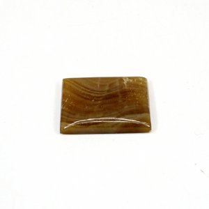 Natural Honey Aragonite 24x19mm Rectangle Cabochon 22.70 Cts Loose Gemstone