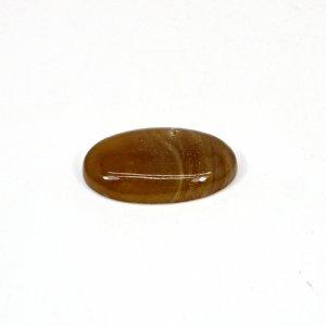 Natural Honey Aragonite 27x17mm Oval Cabochon 20.70 Cts Loose Gemstone