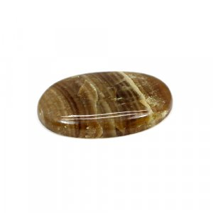 Natural Honey Aragonite 30x18mm Oval Cabochon 25.35 Cts Loose Gemstone