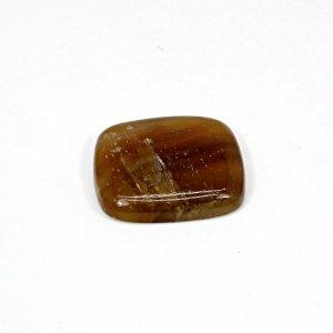 Natural Honey Aragonite 32.15 Cts Rectangle Cushion Cabochon 26x22mm Loose Gemstone