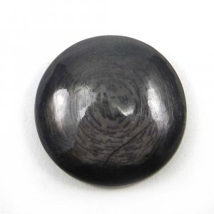 Natural Hypersthene 23mm Round Cabochon 32.35 Cts