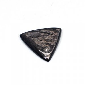 Natural Hypersthene 26x25mm Triangle Cabochon 26.55 Cts Loose Gemstone