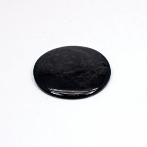 Natural Hypersthene 31mm Round Cabochon 39.15 Cts Loose Gemstone