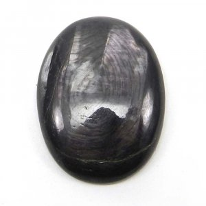 Natural Hypersthene 32x20mm Oval Cabochon 29.2 Cts
