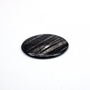 Natural Hypersthene 33x23mm Oval Cabochon 28.50 Cts Loose Gemstone