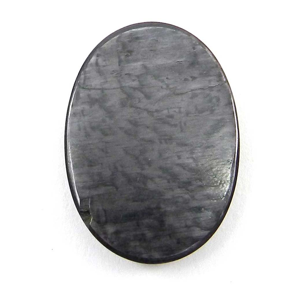 Natural Hypersthene 33x23mm Oval Cabochon 38.7 Cts