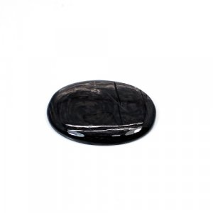Natural Hypersthene 35x25mm Oval Cabochon 44.50 Cts Loose Gemstone