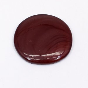 Natural Imperial Jasper 28mm Round Cabochon 31.90 Cts
