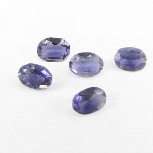 Natural Iolite 4x2mm Oval Cut 0.12 Cts
