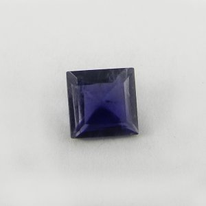 Natural Iolite 7x7mm Square Cut 1.2 Cts
