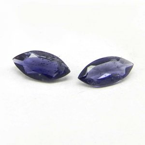 Natural Iolite 8x4mm Marquise Cut 0.45 Cts