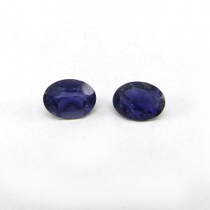 Natural Iolite 8x6mm Oval Cut 1.0 Cts