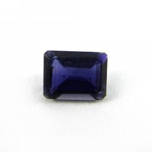 Natural Iolite 9x7mm Rectangle Cut 1.8 Cts