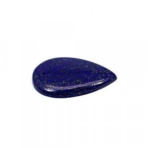 Natural Lapis Lazuli 31x19mm Pear Cabochon 21.35 Cts Loose Gemstone