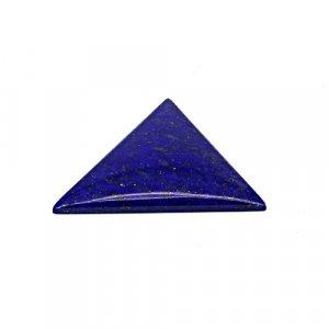 Natural Lapis Lazuli 35x31mm Triangle Cabochon 32.7 Cts Loose Gemstone