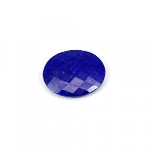 Natural Lapis Lazuli 9.35 Cts Oval Briolette Cut 20x17mm Loose Gemstone