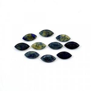 Natural Lapis Lazuli Marquise Cut 20 Pcs Lot 8x4mm 11 Cts Loose Gemstone