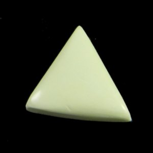 Natural Lemon Chrysoprase 20x18mm Fancy Cabochon 9.0 Cts IG2100