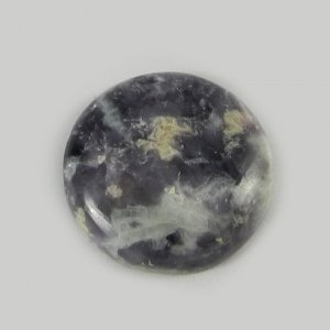 Natural Lepidolite 18mm Round Cabochon 13.5 Cts