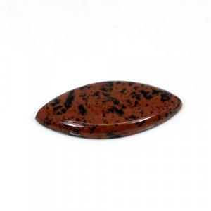 Natural Mahogany Obsidian Marquise Cabochon 32x15mm 13 Cts Loose Gemstone