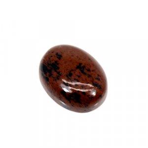Natural Mahogany Obsidian Oval Cabochon 8.35 Cts 16x12mm Loose Gemstone