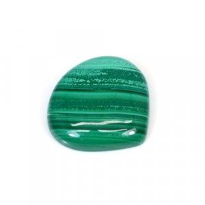 Natural Malachite Heart Cabochon 34.30 Cts 24x22mm Loose Gemstone