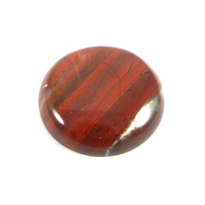 Natural Mexican Snack Jasper 24mm Round Cabochon 27.0 Cts