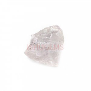 Natural Morganite 11x10mm Freeform Rough 4.85 Cts