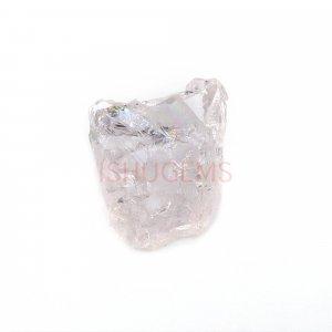 Natural Morganite 12x11mm Freeform Rough 5.00 Cts