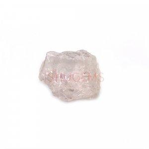 Natural Morganite 14x12mm Freeform Rough 8.30 Cts