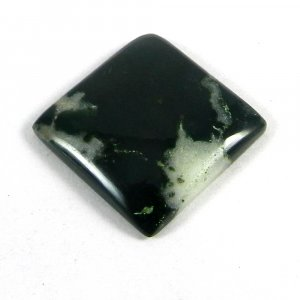 Natural Moss Agate 20x20mm Square Cabochon 18.5 Cts