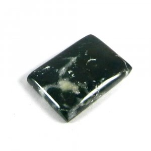 Natural Moss Agate 21x15mm Rectangle Cabochon 13.5 Cts