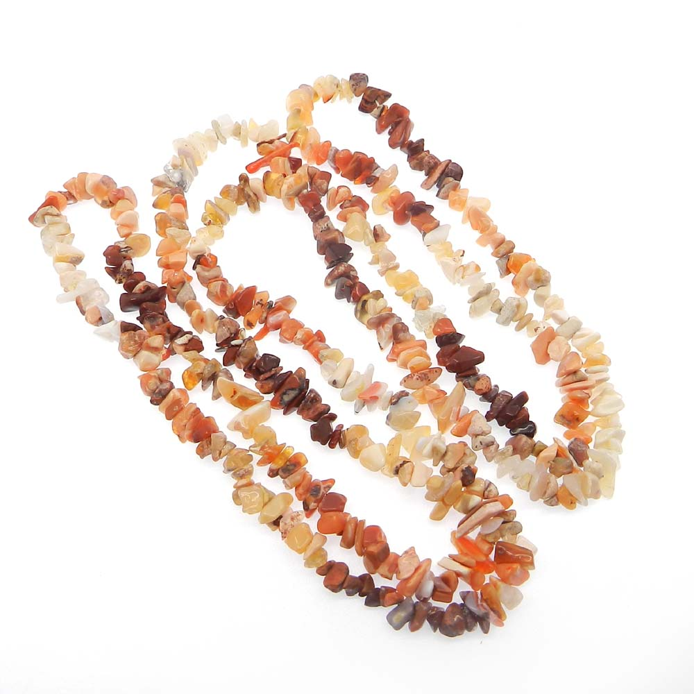 Natural Multi Agate 6-8mm Approx 36 Inch Length Chips Strand Beads