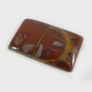 Natural Noreena Jasper 28x18mm Rectangle Cabochon 21.3 Cts