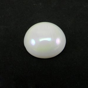 Natural Opal Coated 14mm Round Cabochon Cut 7.3 Cts