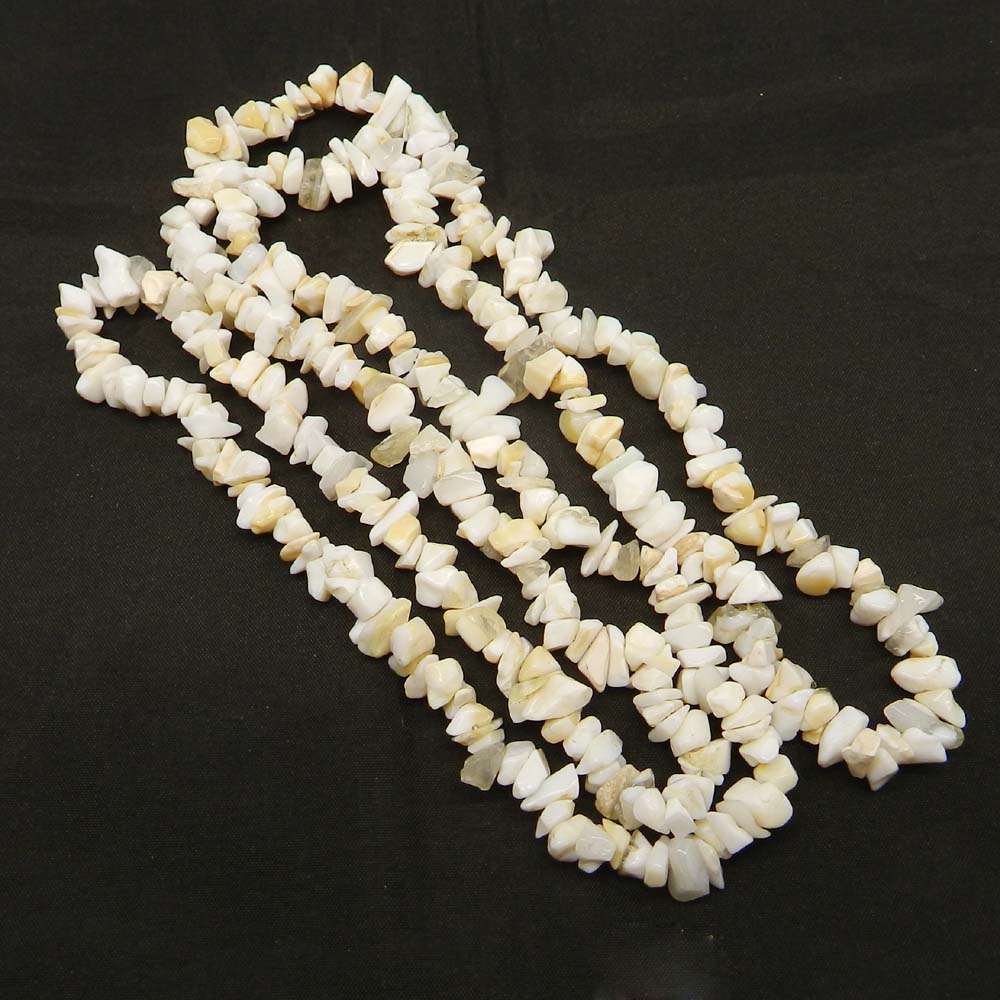 Natural Opalite 8-9mm Approx 36 Inch Length Chips Strand Beads