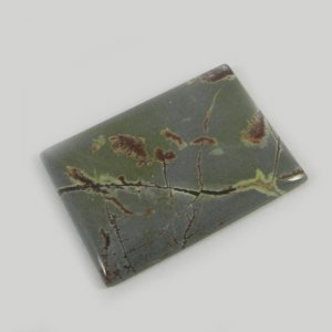 Natural Picasso Jasper 29x21mm Rectangle Cabochon 25.75 Cts