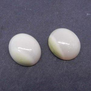 Natural Pink Aragonite 14x12mm Oval Cabochon 7.8 Cts
