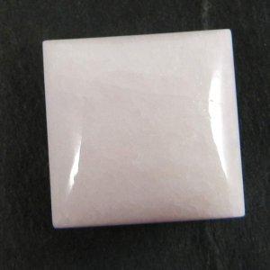 Natural Pink Aragonite 16x16mm Square Cabochon 15.5 Cts