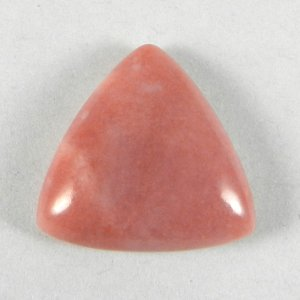 Natural Pink Opal 20x20mm Triangle Cabochon 15.5 Cts
