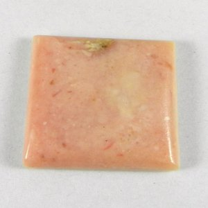 Natural Pink Opal 25x23mm Rectangle Cabochon 26.5 Cts