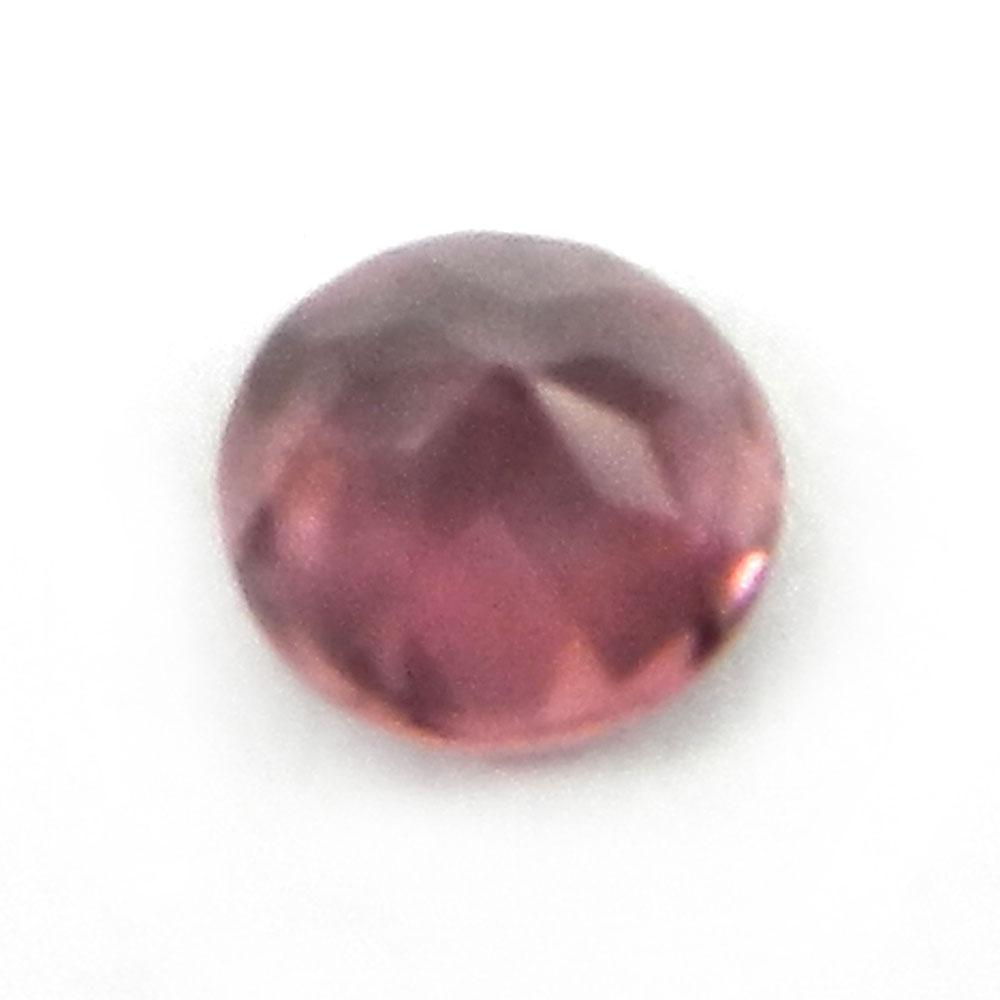 Natural Pink Tourmaline 5mm Round Cut 0.4 Cts