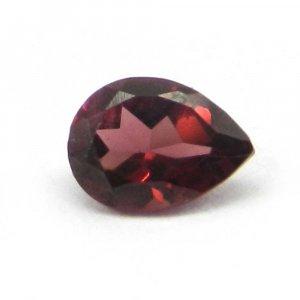 Natural Pink Tourmaline 7x5mm Pear Cut 0.9 Cts