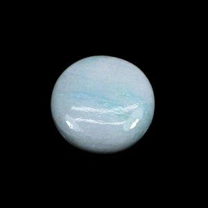 Natural Rainbow Moonstone 11.65 Cts Round Cabochon 17mm Loose Gemstone