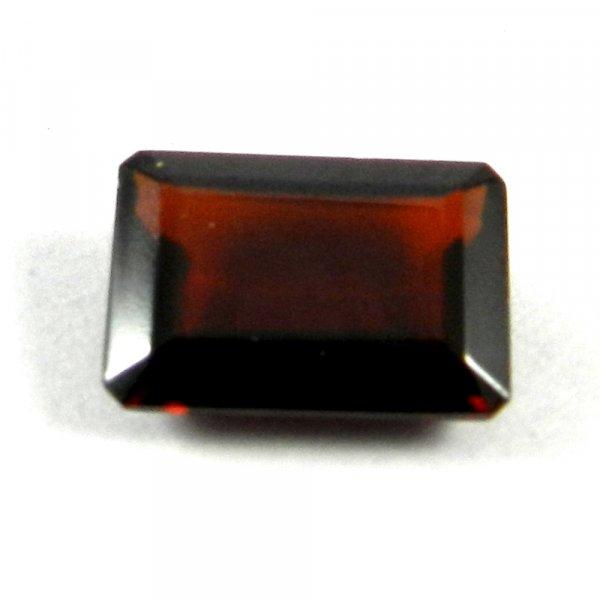 Natural Red Garnet 14x10mm Rectangle Cut 8.6 Cts
