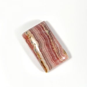 Natural Rhodochrosite 19x11mm Rectangle Cabochon 16.05 Cts